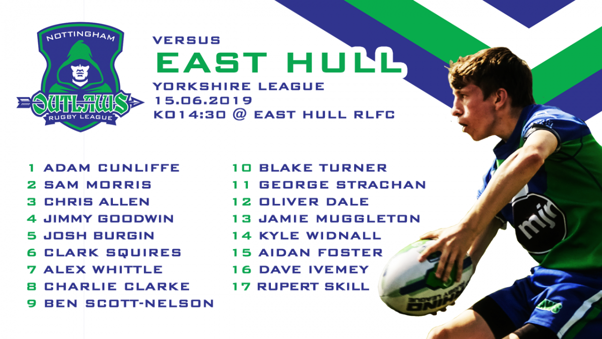 east hull a19 team sheets