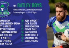 batley a team sheets
